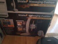 Shiatsu+ massage cushion