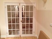 French Doors - Glazed White Internal (pair)
