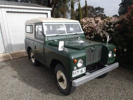 1971 Land Rover (4X4) Ute Clare Clare Area Preview