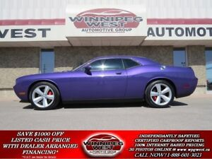 2010 Dodge Challenger SRT8 ICONIC PLUM CRAZY PURPLE MONSTER, 425