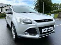 2014 FORD KUGA ZETEC 4x2 TDCI ONLY TWO OWNERS EXCELLENT CONDITION ONLY 48,000 MILES