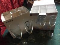 Champagne and Grappa Glasses