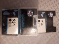 8 Original HP934 and HP 935 Ink cartidges