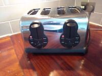 Hinari 4 Slice Toaster - Fully functioning - SW London collection