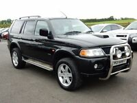 2004 mitsubishi shogun sport 2.5 td motd until march 2017 all cards welcome