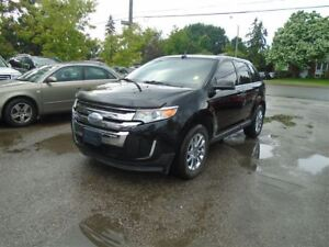 2012 Ford Edge Limited, LEATHER, EXTRA WINTER TIRES AND RIMS.