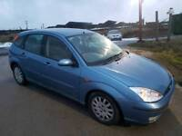2002 FORD FOCUS 1.6 GHIA AUTOMATIC 5 DOOR HATCHBACK BLUE