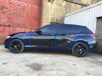 BMW 1SERIES 116d F20 2.0L Sport all black