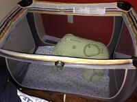 Lux playpen with accessories