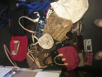 Joblot of handbags and purses