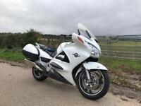 Honda ST1300 pan european motorcycle.