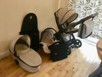 Oyster2 travel system limited edition City Bronze with new parts