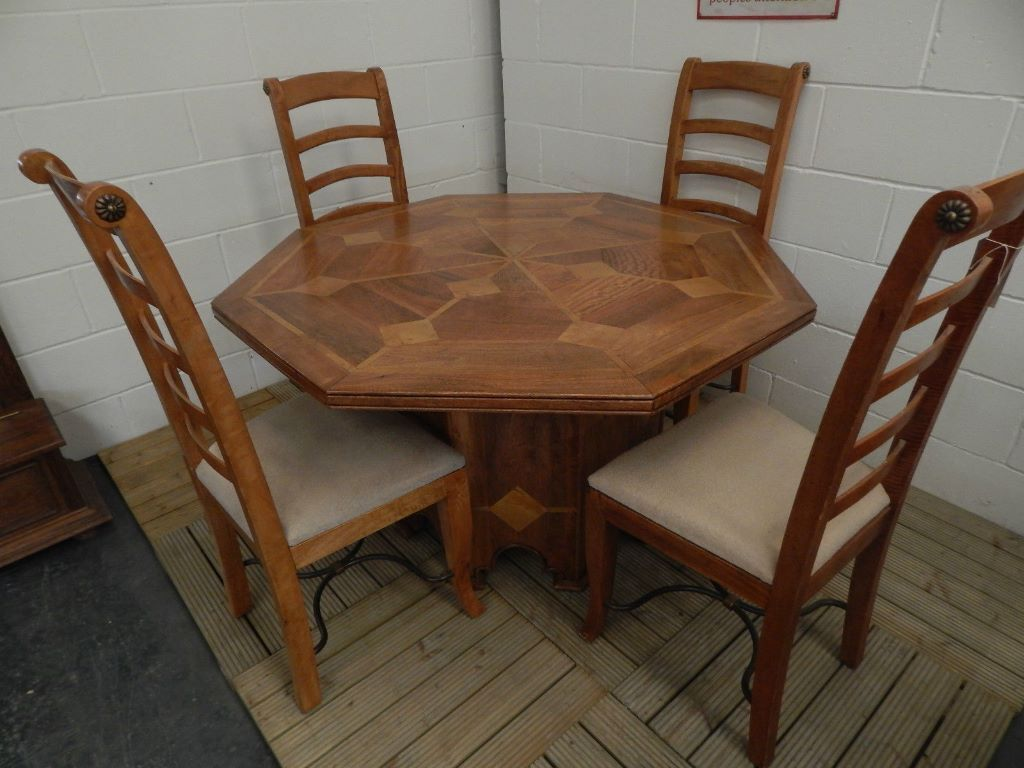 flagstone octagonal dining table no chairs in norwich norfolk gumtree