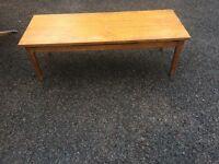 Teak coffee table 1960s