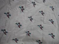 Patterned Cotton Print Material with Wadded Backing