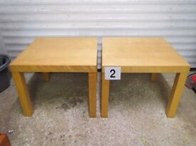 Pair of Ikea Coffee Tables