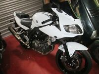 Suzuki SV650s, 2015, 700 miles from new!!