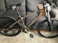 26inch silver fox mountain bike/jump bike