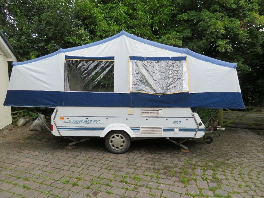 Pennine Sterling Folding Camper 2002 With Skirts And