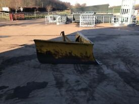 Grays snow plough for tractor