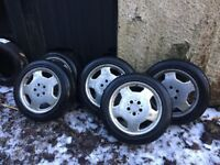 5 Fabulous Tyres on AMG Alloy Wheels 215 / 55 / 17