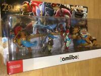 New Amiibo Zelda BotW Champions