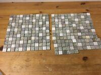 2x Sheets of Mosaic Tiles – 30cm x 30cm