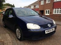 Low mileage vw golf fsi sports 6 speed manual 2005
