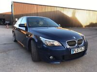 BMW 535 D E60 M SPORT LCI SPARES OR REPAIR DAMAGED SALVAGE