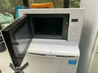 Hotpoint in built microwave