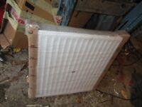 Double radiator, unused.