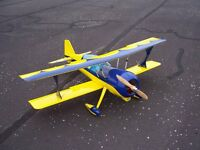 Large selection of radio controlled model aircraft for sale.