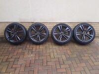 """19"""" genuine bmw 442m alloy wheels"""