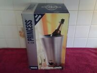 Princess Silver Wine Cooler – In Excellent Condition – As New