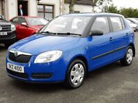 2009 skoda fabia 1 with only 58000 miles, part history motd until may 2017