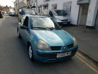 05 PLATE RENAULT CLIO. 1.5 DIESEL. VERY ECONOMICAL AND CHEAP TO RUN