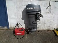 marina outboard pull start 25hp