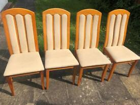 Set of chairs