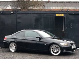 ★ 2007 BMW 320D COUPE + BMW DEEP DISH ALLOYS + FOGLIGHTS + 80K MILES ★