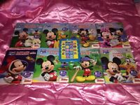 Mickey Mouse club house E reader and books