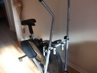 2in1 Elliptical cross trainer and exercise bike