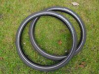 Schwalbe Big Apple Plus Tyres (Pair) 26x2.15, Lightly Used £17