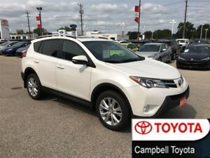 2013 Toyota RAV4 Limited HEATED LEATHER--AWD--PWR GATE--MOON ROO