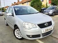 2008 VOLKSWAGEN POLO 1.4 SE AUTO 5DR,35000 MILES,2 LADY OWNERS,VOLKSWAGEN HISTORY,MOT AND SERVICE.
