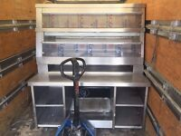 COMMERCIAL CATERING FAST FOOD FRIED CHICKEN HCW5 HENNY PENNY HOT DISPLAY CABINET