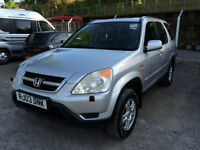 *HONDA CR-V CRV 2.L PETROL 2003 - 3 LADY OWNERS FROM NEW, FSH* CR V