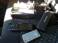 Car radio , stereo ripspeed aux,usb,memory card,cd