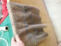 Chain mail for meat cutting hunters