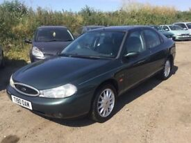 AUTOMATIC FORD MONDEO GHIA X MODEL LEATHER AIR CON ALLOYS FSHISTORY LOVELY DRIVER FULLY LOADED RARE