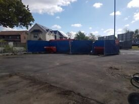 Heras Building Site Fence / Steel Fencing, With feet and clips